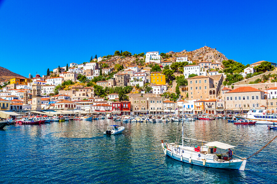 hydra greek island