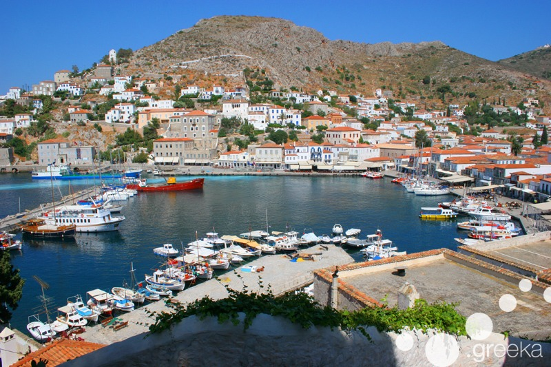 Greek islands near Athens: Hydra
