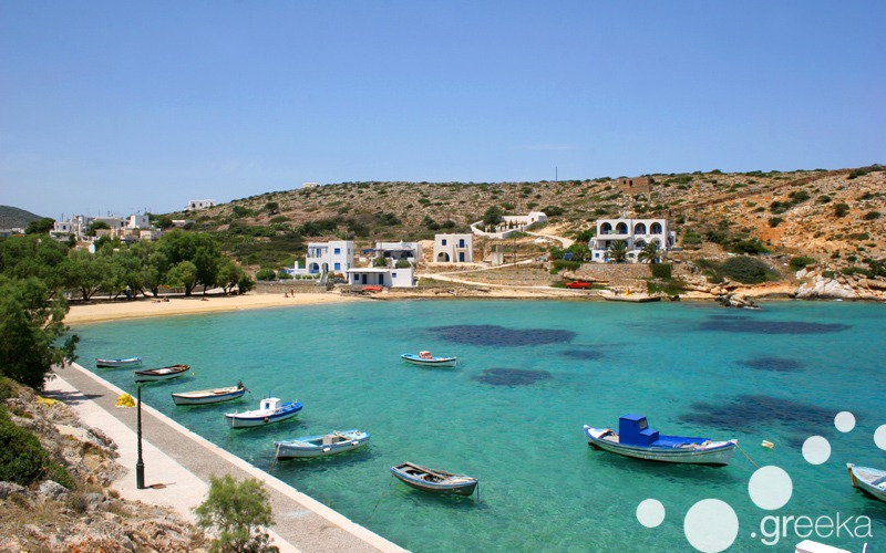Iraklia island in Small Cyclades