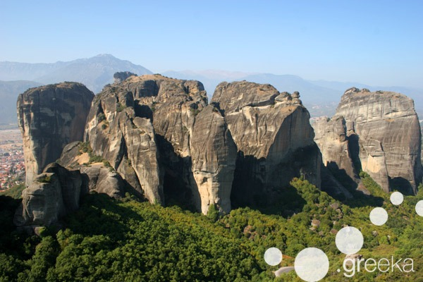 Kalambaka and Meteora in Greece