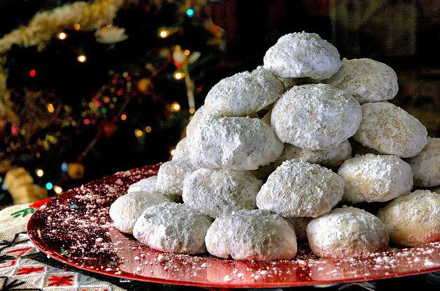 Kourabiedes and other Christmas sweets