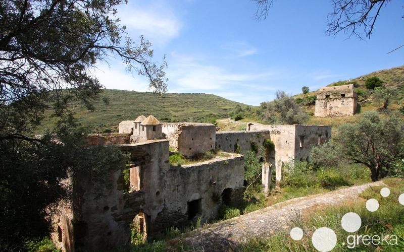 Kalamitsia Monastery in Naxos