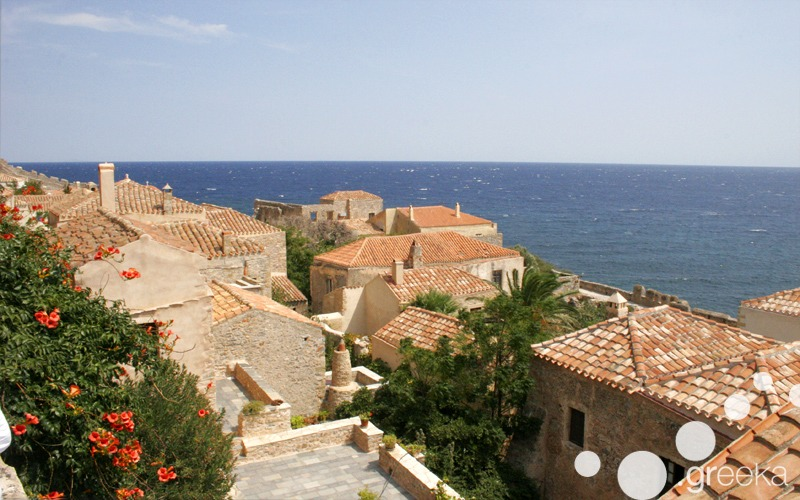 Medieval walks in Monemvasia