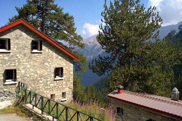 Mount Olympus in top winter destinations in Greece