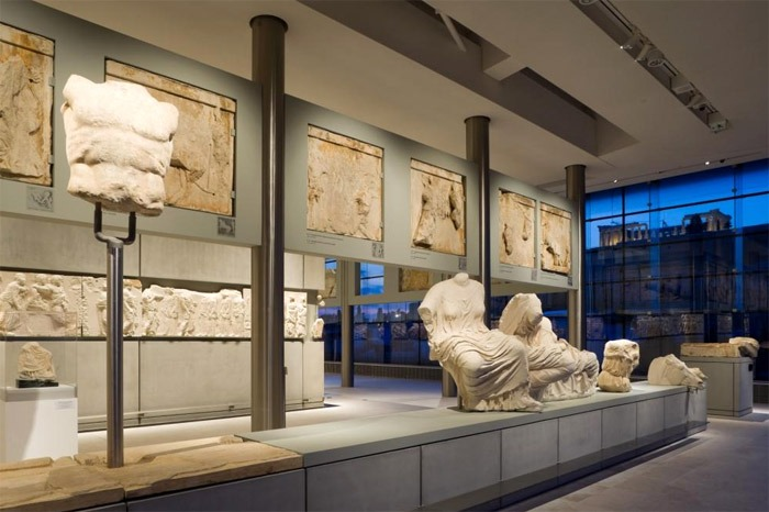 Famous museums in Greece: Acropolis Museum in Athens