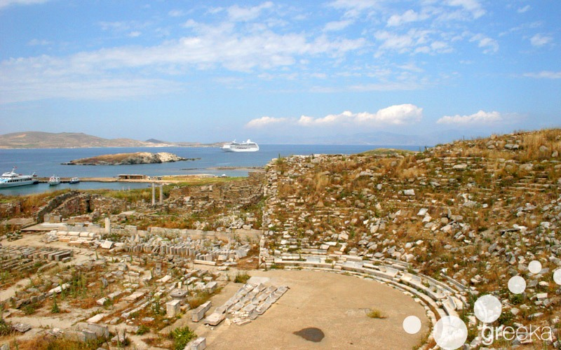 Things to do in Mykonos: Visit Delos island