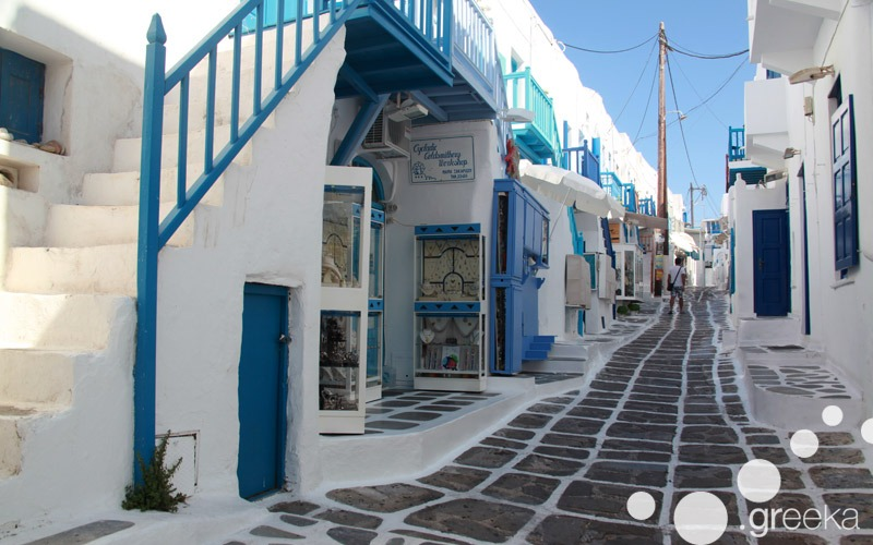 Walking tours in Mykonos
