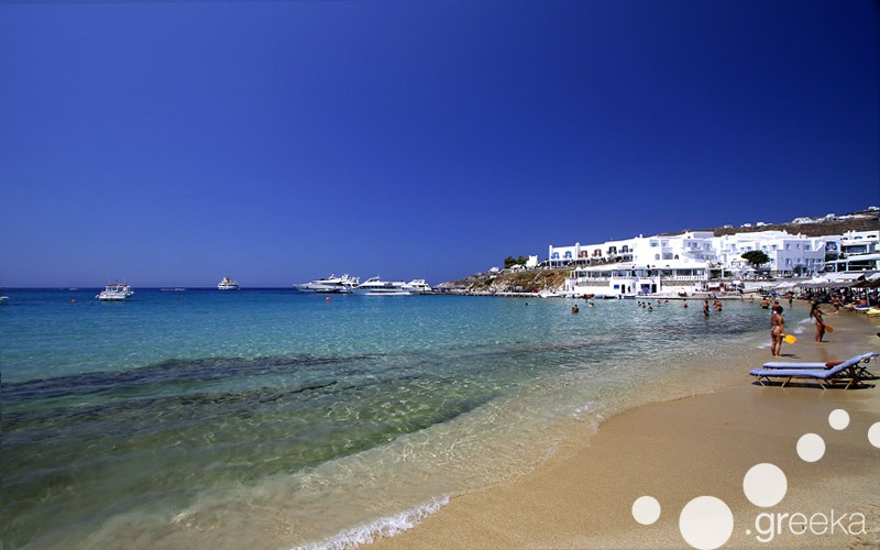 Beaches of Mykonos
