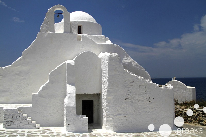 Mykonos spots for photo shooting
