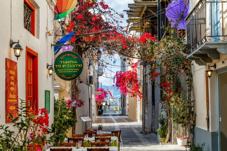nafplion old town