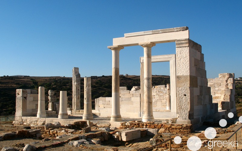 Temple of Demeter in Naxos
