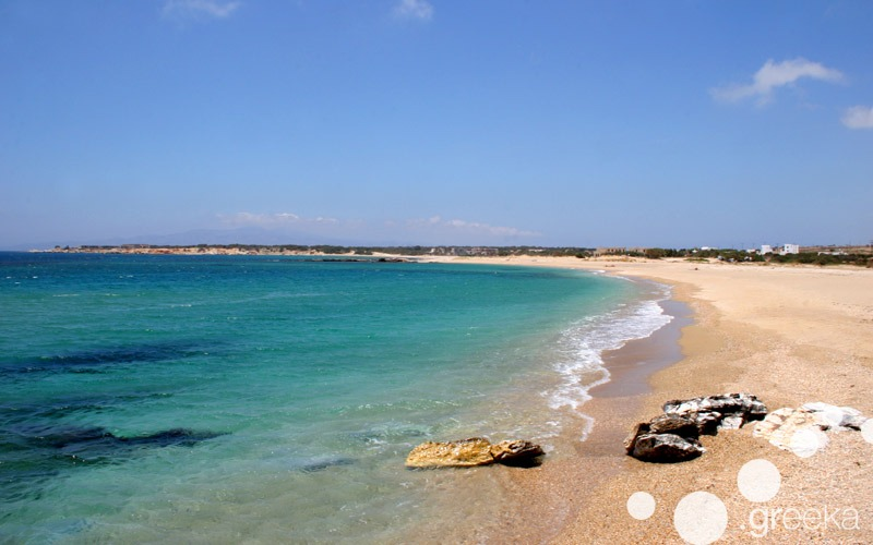 Wonderful beaches in Naxos