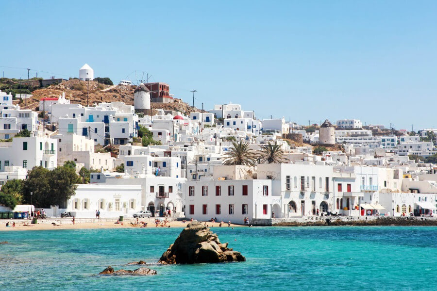 old town port mykonos
