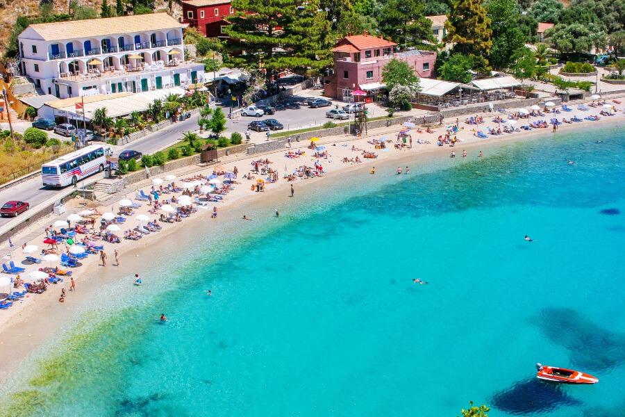 paleokastritsa beach corfu