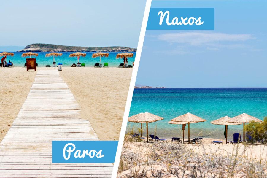 Paros & Naxos beaches