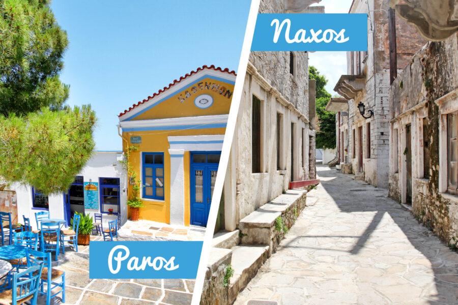 Paros & Naxos villages