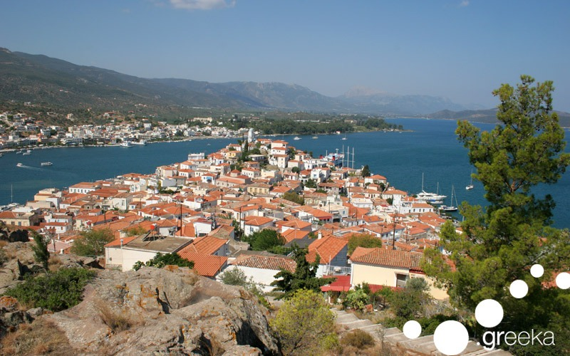 Trip from Athens to Poros island
