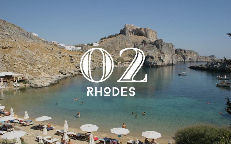 Rhodes honeymoon