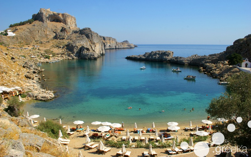 Rhodes among best Greek islands for couples