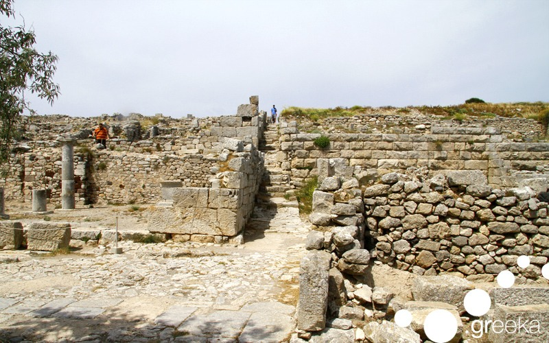 Secet things to do in Santorini: Visit Ancient Thera