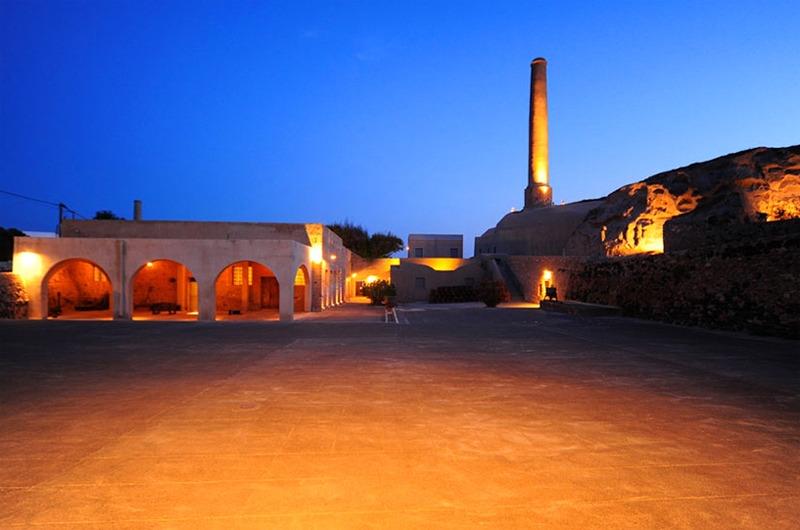 Santorini Arts Factory in Vlychada, Santorini island
