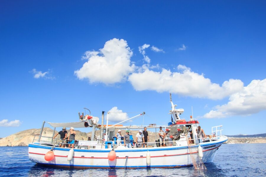 Santorini fishing tour