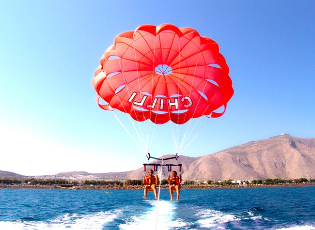 Santorini fun things to do: Watersports