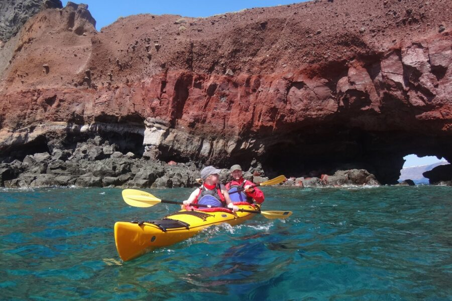 Santorini Kayak and SUP tours