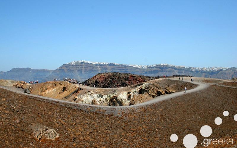 Volcano of Santorini