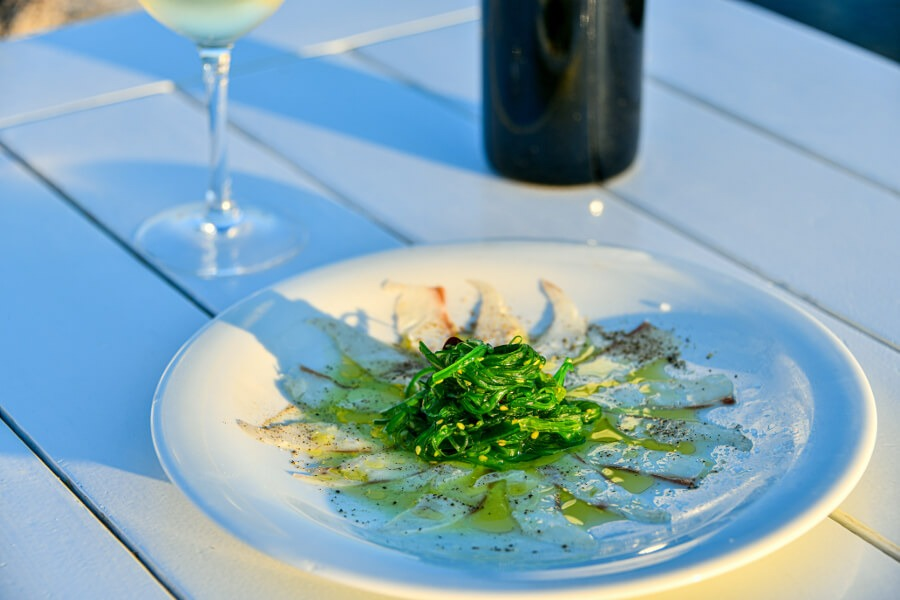 sea beam carpaccio