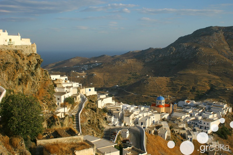 Serifos Greek island close to Athens