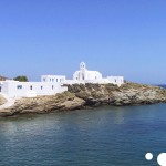 panagia chrisopigi in sifnos, greece