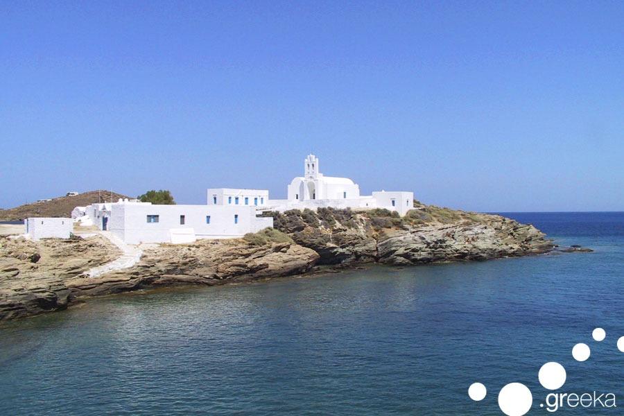 panagia chrisopigi in sifnos, greece