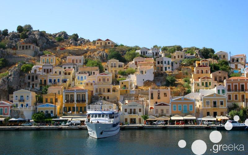 Simi Greek island