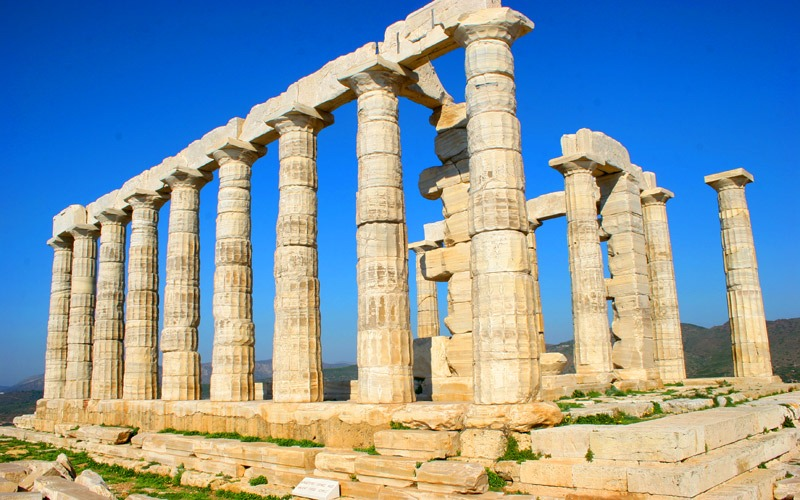 Athens tours to Cape Sounion