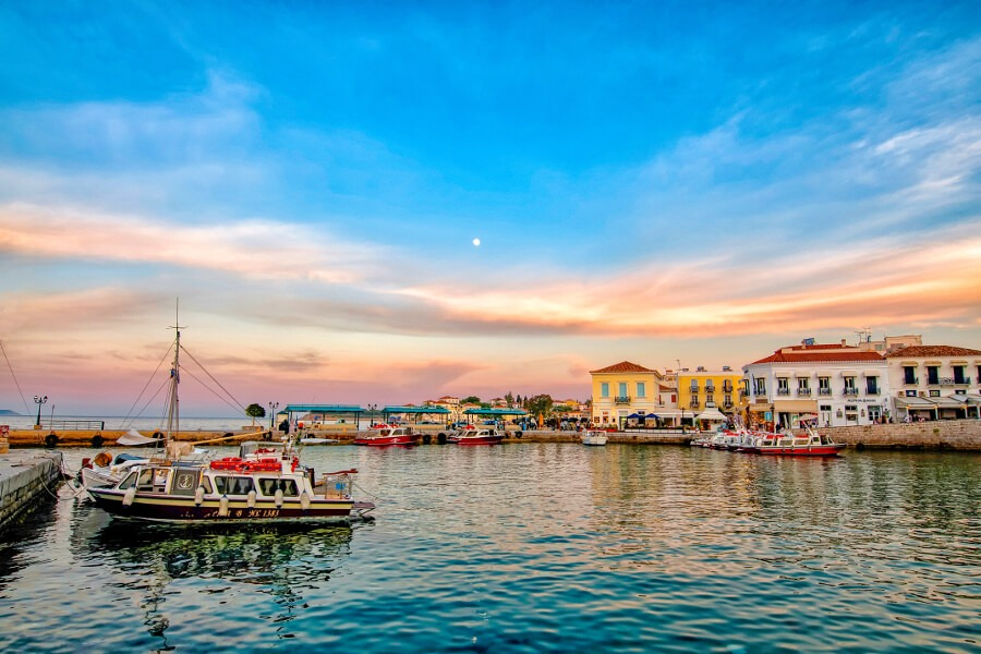 spetses greek island