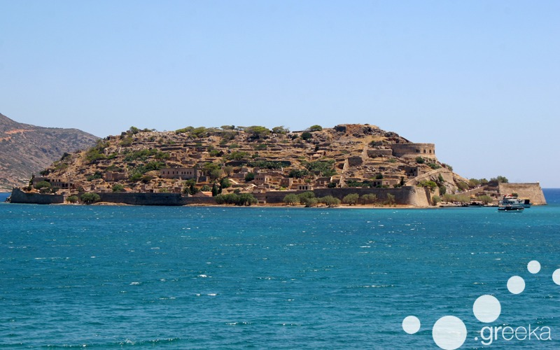 Spinalonga island in Crete