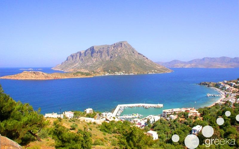 Telendos island in Greece