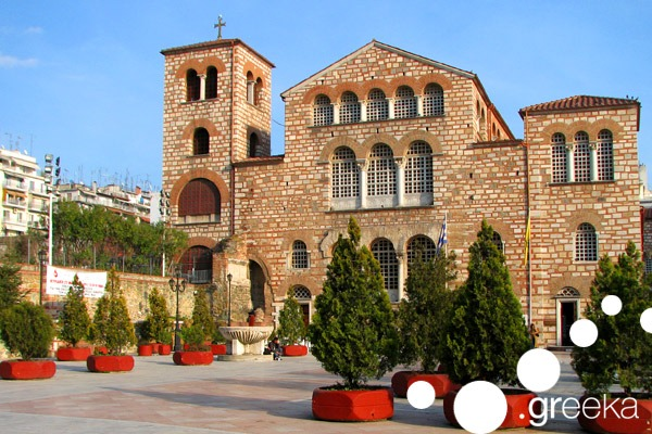 Best places to visit in Thessaloniki: Church of Saint Demetrius
