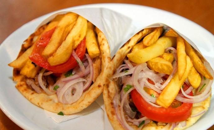 Top Greek dishes: Pita Souvlaki