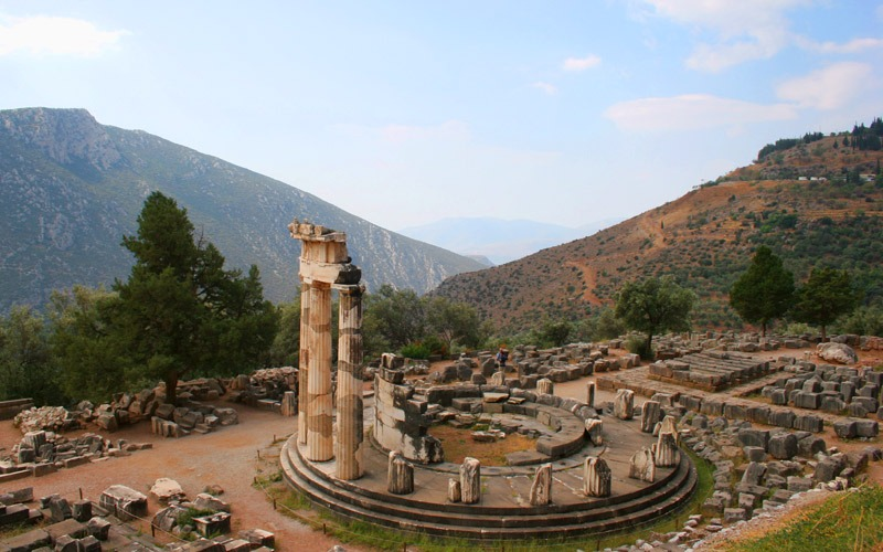 Athens tours to Ancient Delphi