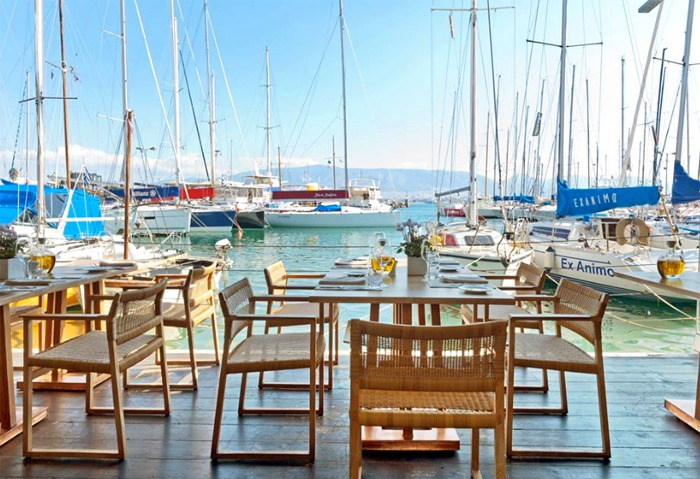 Varoulko Seaside Restaurant in Athens