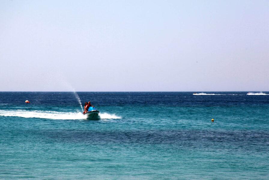 Santorini Jet Ski Safari tours to the volcano