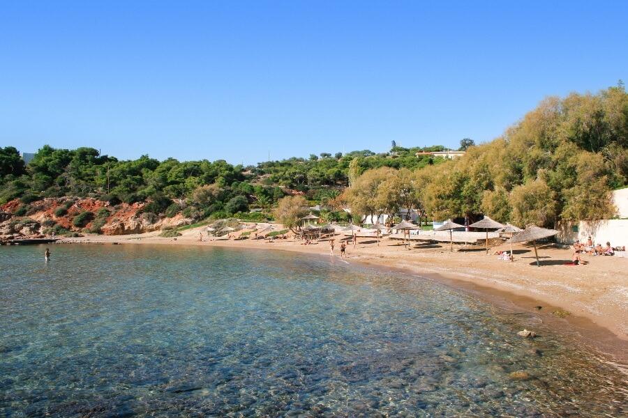 vouliagmeni beach athens riviera
