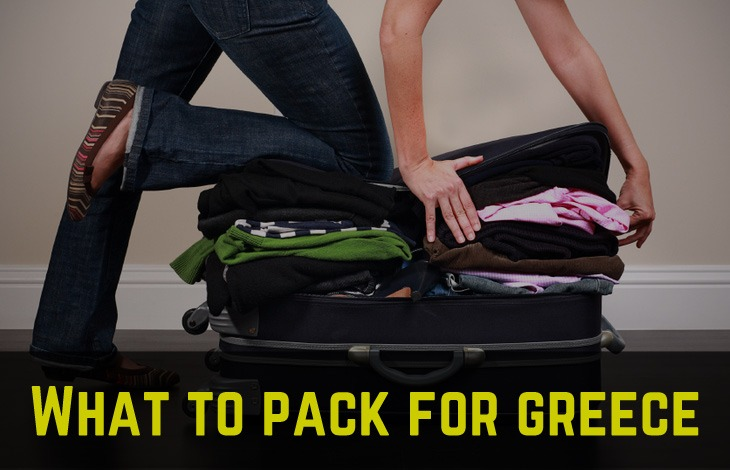 What to pack for Greece: light clothes, bathing suits, flip flops and more