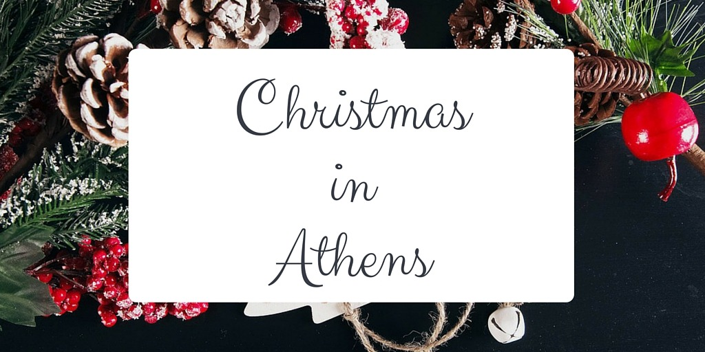christmas in athens blog post